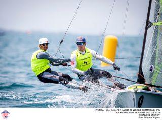 Nacra 17, 49er, 49erFX - World Championship - Auckland NZL - Day 5