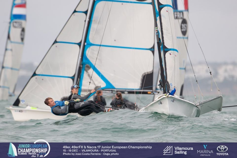 49er, 49erFX, Nacra 17 - Junior European Championship 2019 - Vilamoura POR - Final results