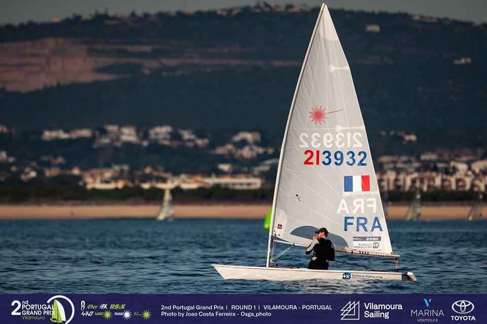 470, Laser, RS:X-Windsurfer - Portugal Grand Prix - Round 1 - Vilamoura POR - Day 1