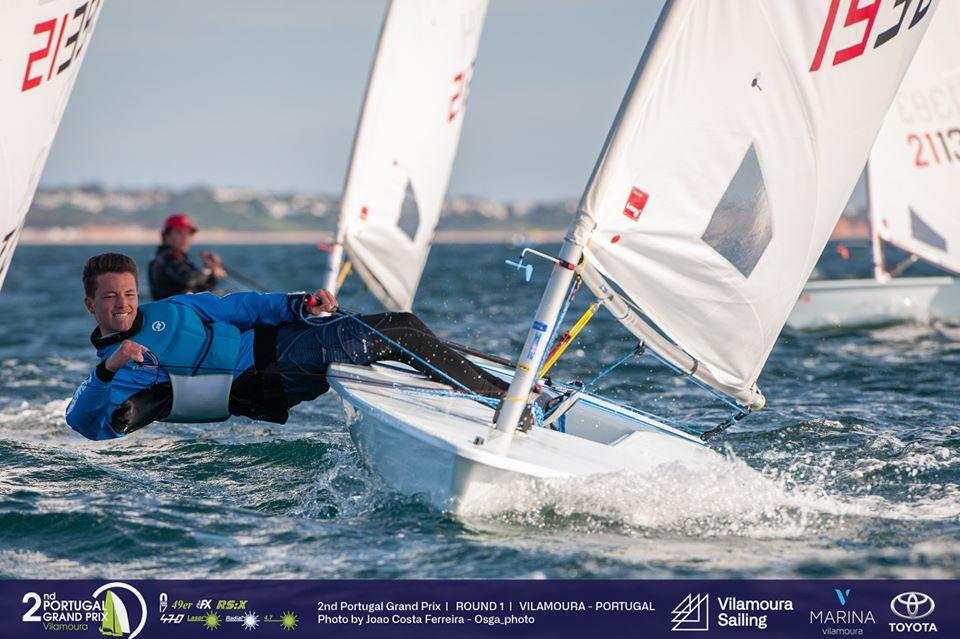 470, Laser, RS:X-Windsurfer - Portugal Grand Prix - Round 1 - Vilamoura POR - Day 3