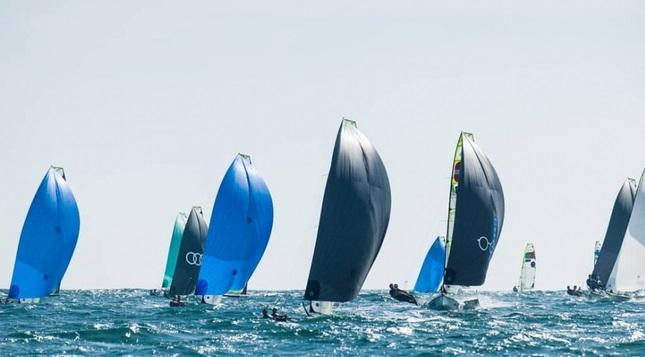 49er, 49erFX, Nacra 17 - Junior European Championship 2019 - Vilamoura POR - Heute Start