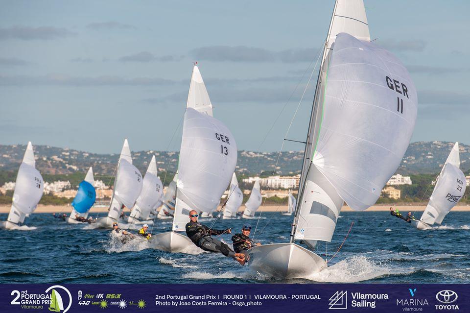 470, Laser, RS:X-Windsurfer - Portugal Grand Prix - Round 1 - Vilamoura POR - Day 2