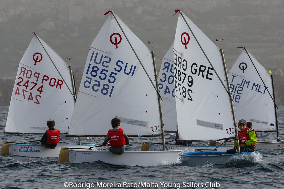 Optimist, Laser 4.7 & Radial - Middlesea Regatta - La Valetta MLT - Day 1