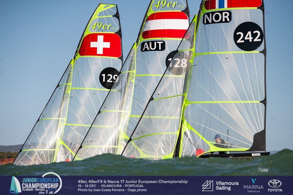 49er, 49erFX, Nacra 17 - Junior European Championship 2019 - Vilamoura POR - Day 3