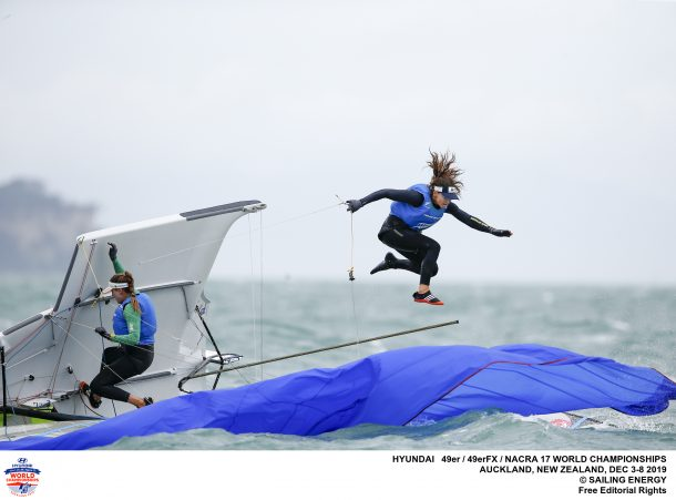 Nacra 17, 49er, 49erFX - World Championship - Auckland NZL - Final results - Gold for NZL, NED and ITA
