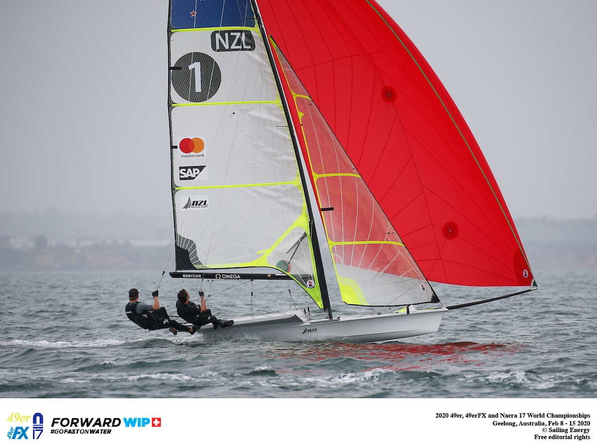 49er, 49erFX, Nacra 17 - World Championship 2020 - Geelong AUS - Day 3
