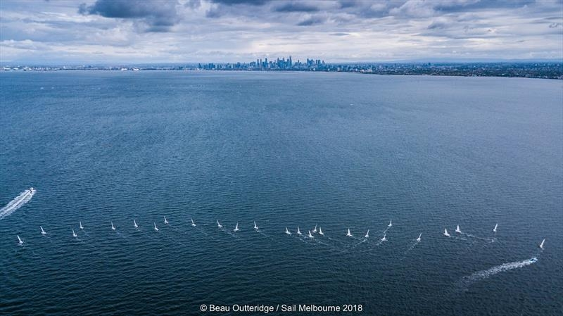 Olympic & International Classes - Sail Melbourne - Melbourne AUS - Day 1
