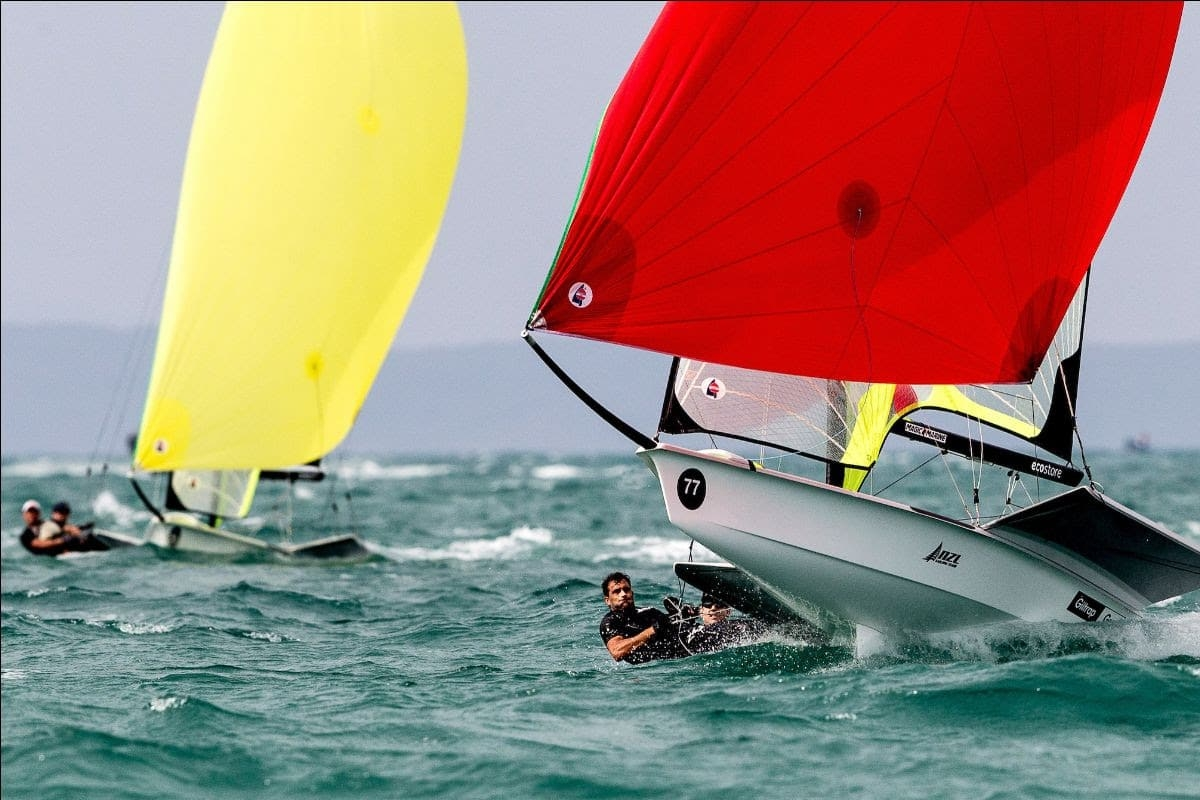 49er, 49erFX, Nacra 17 - World Championship 2020 - Geelong AUS - Day 1