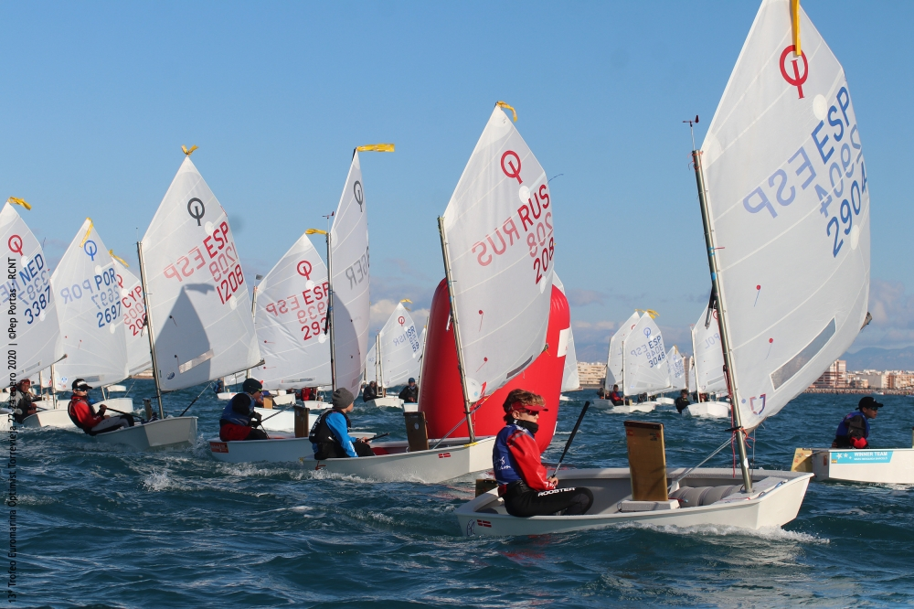 Optimist - Trofeo Euromarina - Torrevieja ESP - Final results