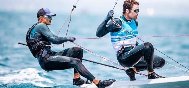 49er, 49erFX, Nacra 17 - Oceania Championship 2020 - Geelong AUS - Day 2