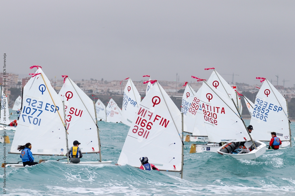 Optimist - Trofeo Euromarina - Torrevieja ESP - Day 2