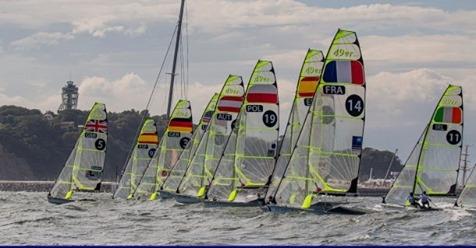 49er, 49erFX, Nacra 17 - Oceania Championship 2020 - Geelong AUS - Day 1