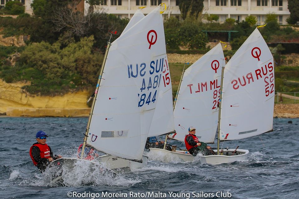Optimist, Laser 4.7 & Radial - Middlesea Regatta - La Valetta MLT - Day 3