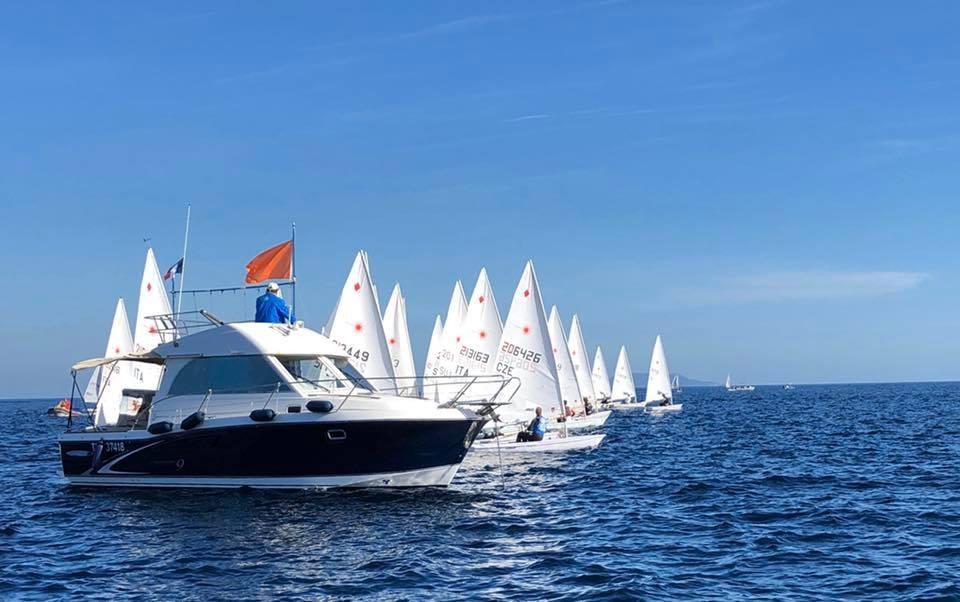 Laser - Championnat de la Méditerrannée - Act 1 - Hyères FRA - Day 1