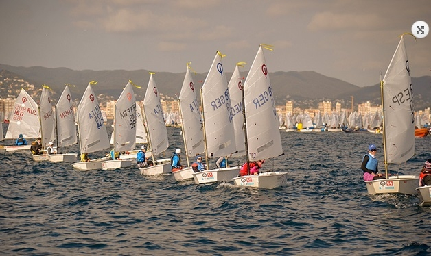 Optimist - Vila de Palamos Trophy - Palamos ESP - Day 2