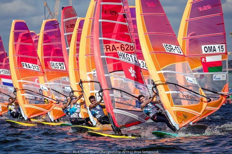 RS:X-Windsurfer - World Championship 2020 - Sorrento AUS - Day 1
