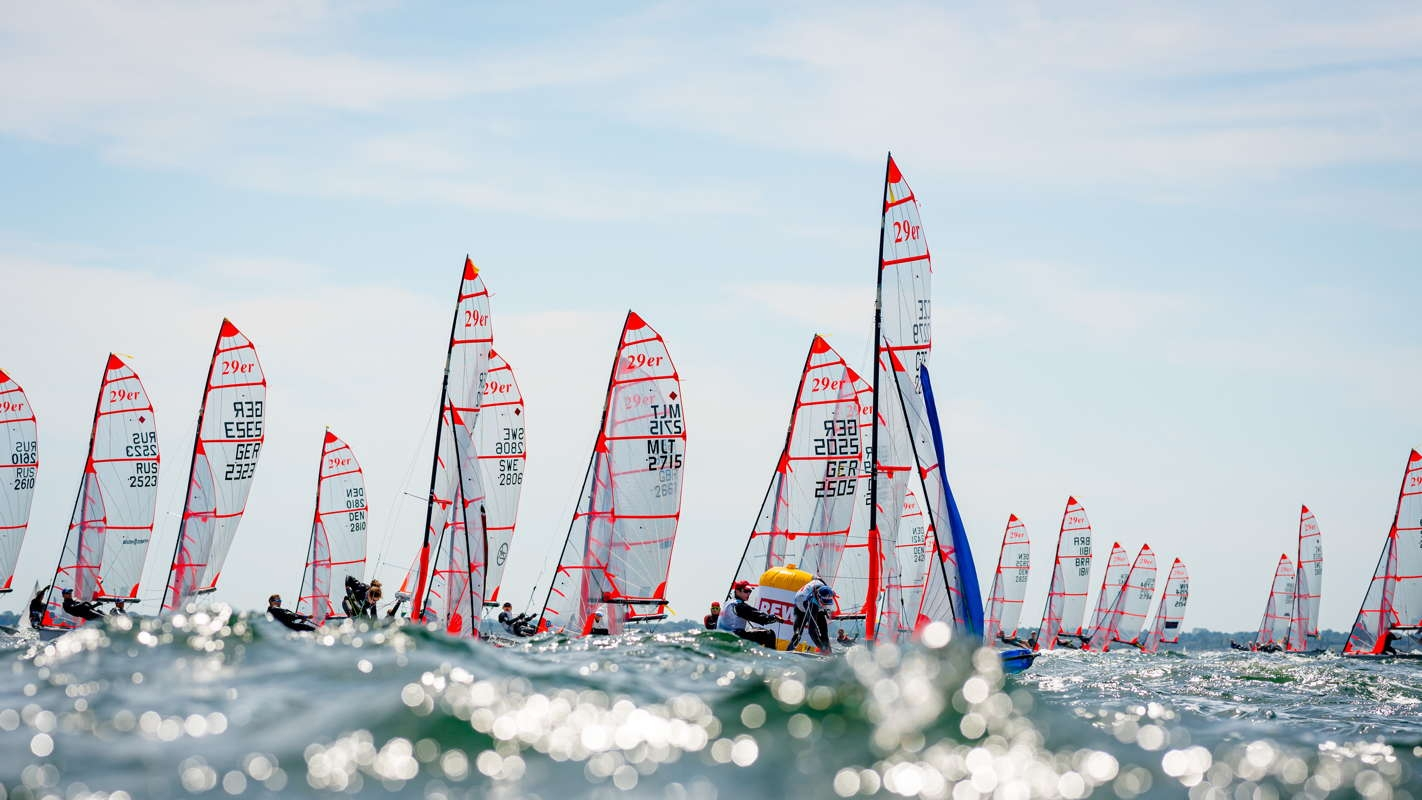 Olympic Classes - Kieler Woche - Kiel GER - Heute Start