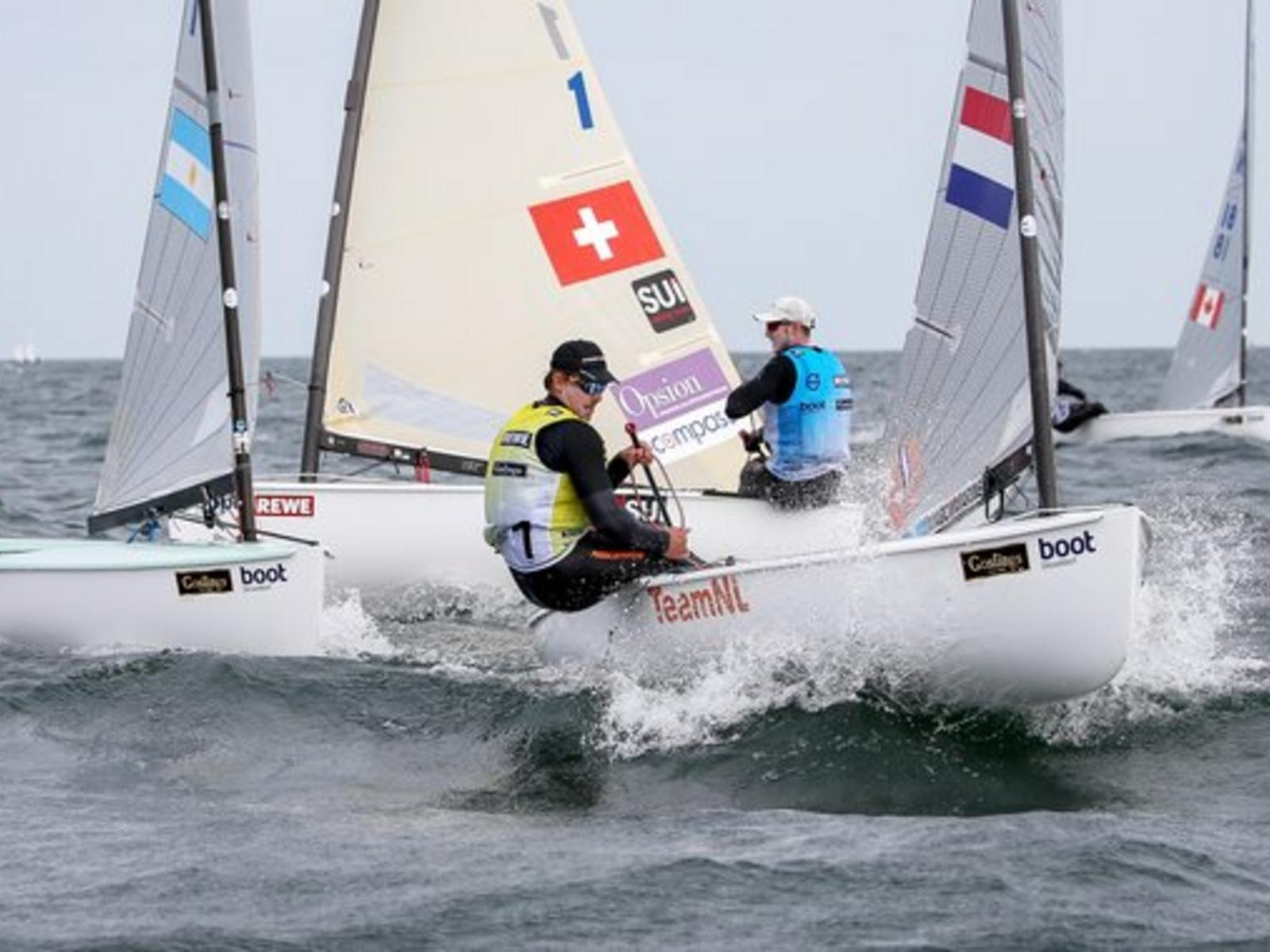 Olympic Classes - Kieler Woche - Kiel GER - Final results - Les Suisses