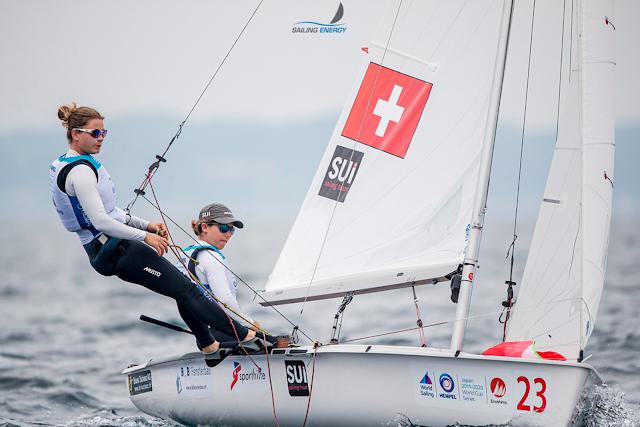 470 - Linda Fahrni/Maja Siegenthaler SUI qualifient la Suisse pour Tokyo