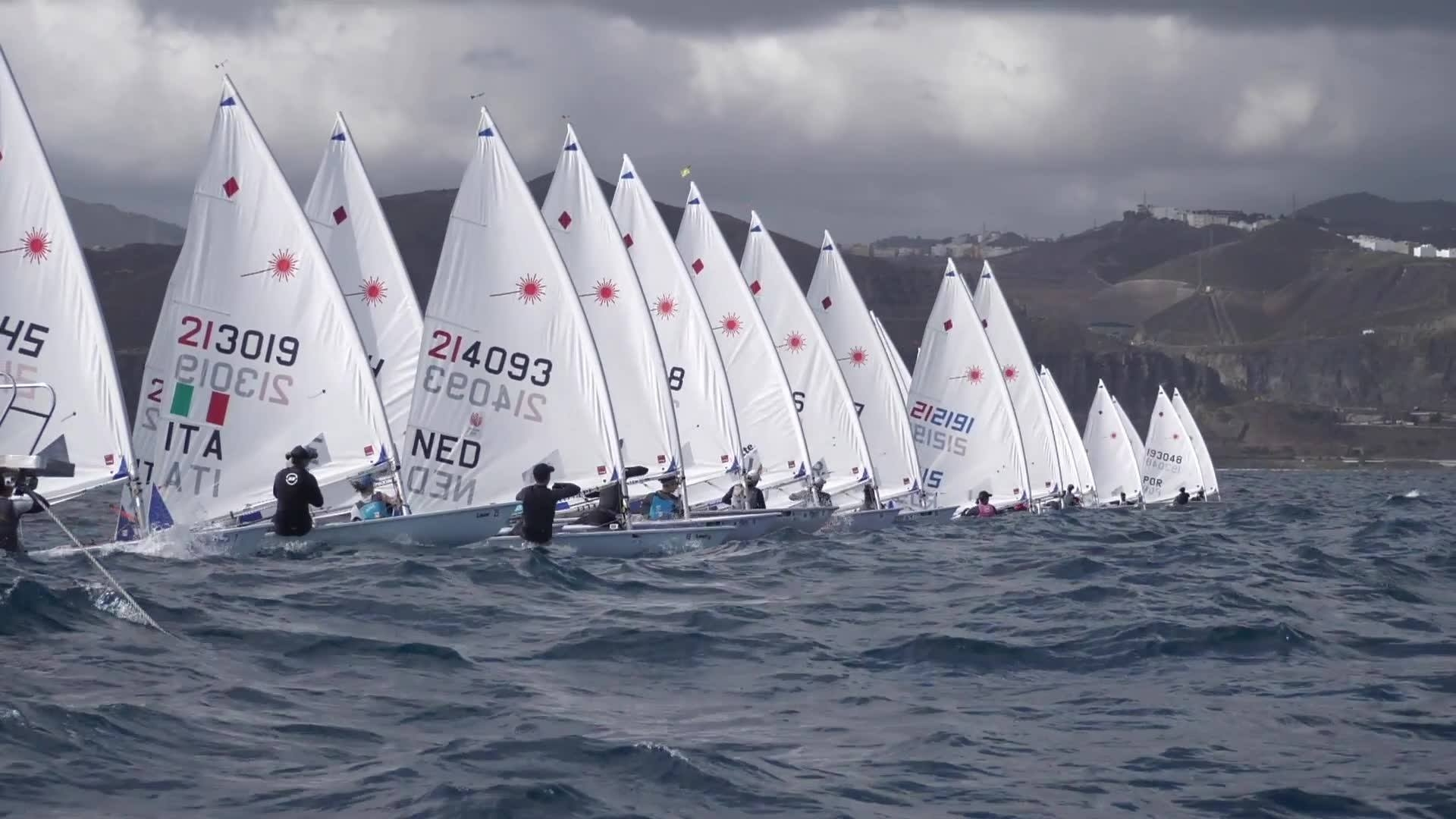 Olympic Classes - Canarian Olympic Sailing Week - Las Palmas ESP - Day 2