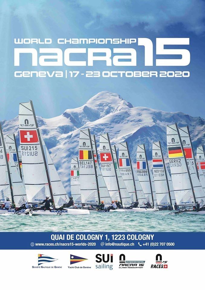 Nacra 15 - World Championship 2020 - A Genève en octobre !