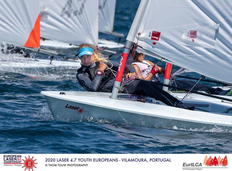 Laser 4.7 - Youth European Championship 2020 - Vilamoura POR - Day 1