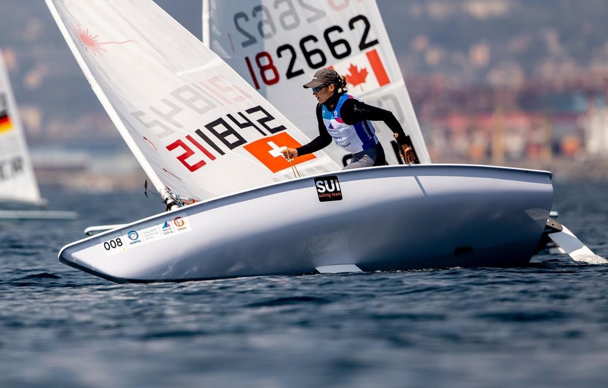 Olympic Classes - Kieler Woche - Kiel GER - Day 2 - Nils Theuninck SUI meilleur du jour !