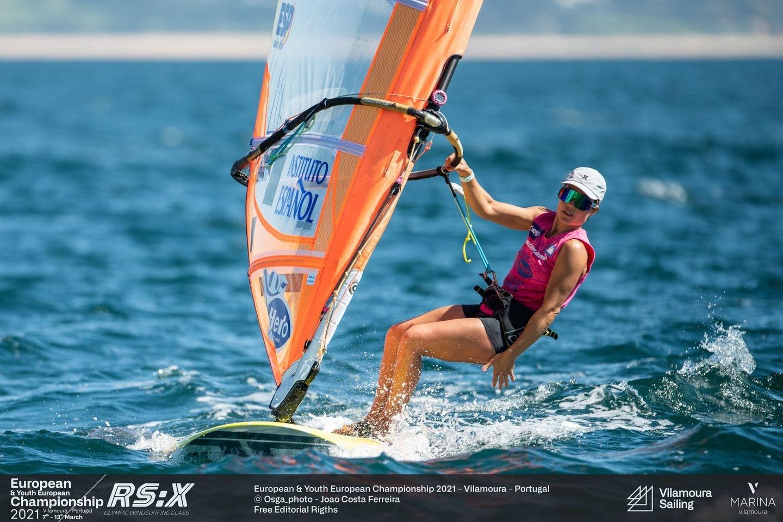 RS:X-Windsurfing - European Championship 2021 - Vilamoura POR - Day 3