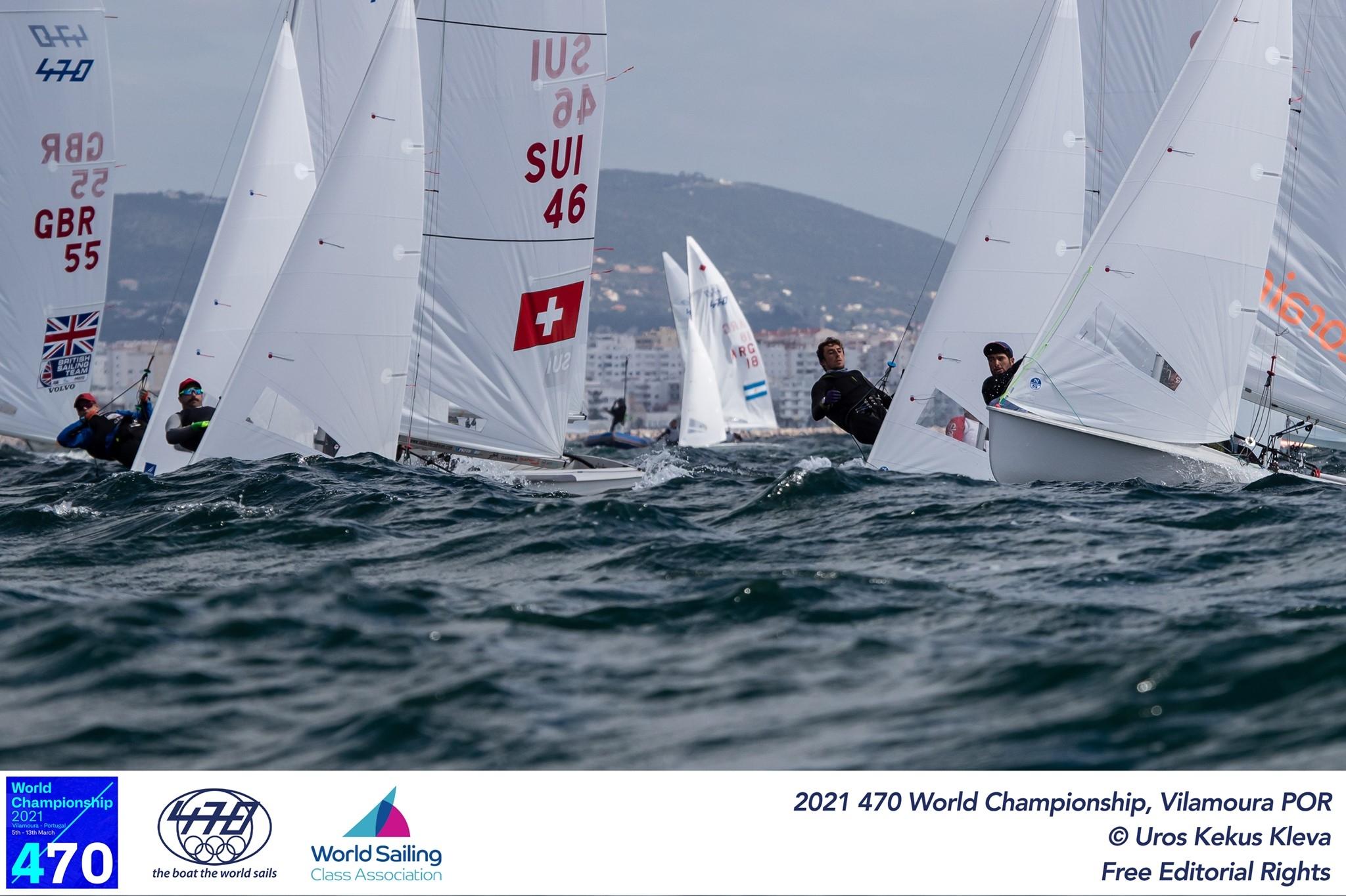 470 - World Championship 2021 - Vilamoura POR - Day 1