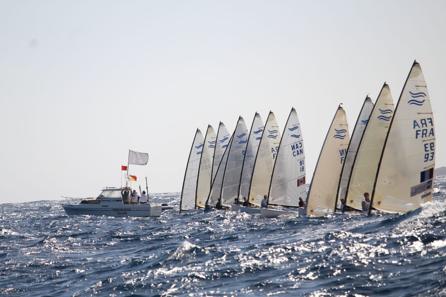 Finn, Nacra 17 - Olympic Winter Series - Lanzarote ESP - Day 3