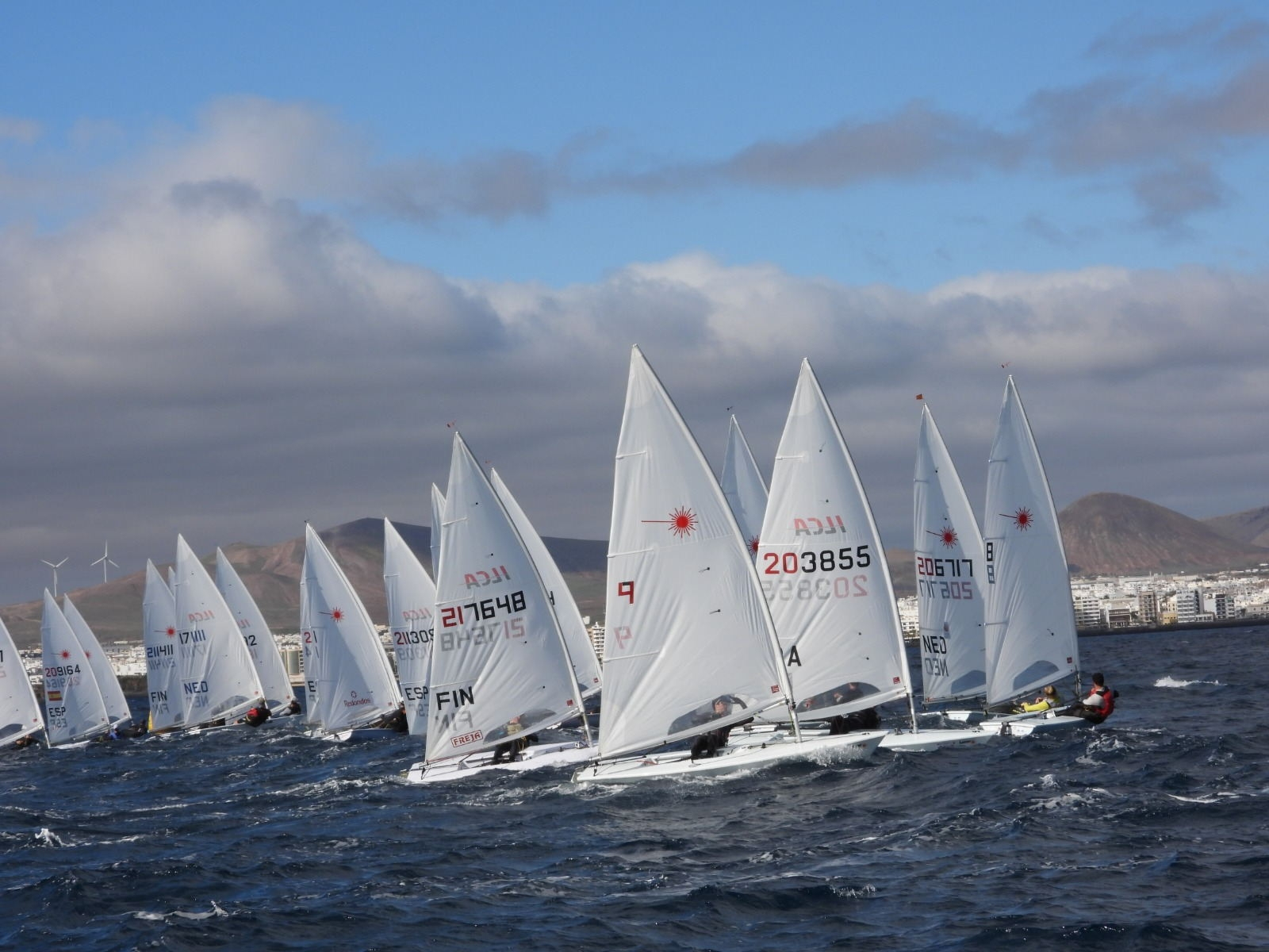 Laser Radial & Standard - Olympic Winter Series - Lanzarote ESP - Day 1