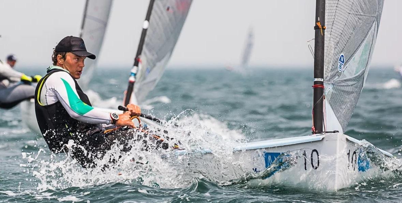 Finn - European Championship 2021 - Vilamoura POR - Heute erste Wettfahrten