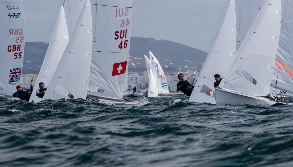470 - European Championship 2021 - Vilamoura POR - Heute Practice Race