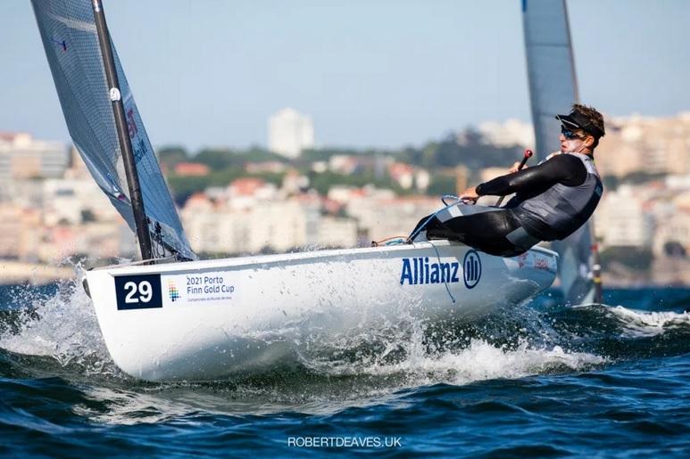 Finn - Goldcup 2021 - Porto POR - Day 2 - No races