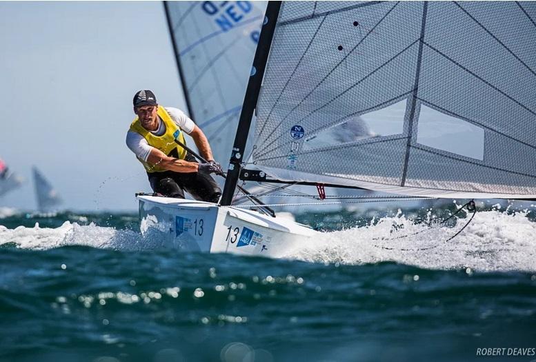 Finn - Goldcup 2021 - Porto POR - Heute Practice Race