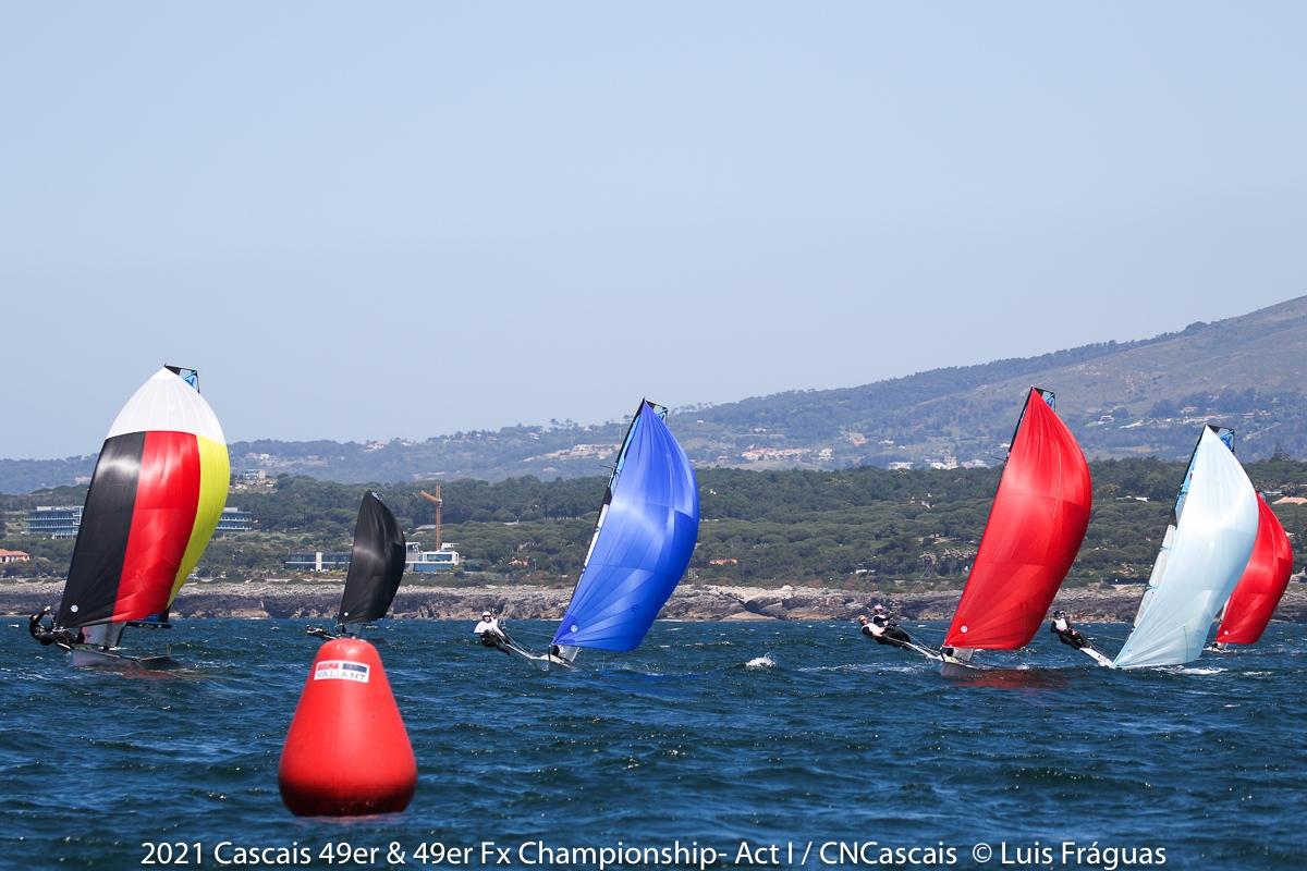49er, 49erFX - Championship - Cascais POR - Day 1