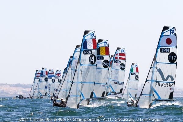 49er, 49erFX - Championship - Cascais POR - Day 2